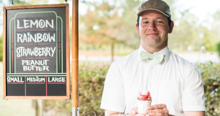 SweetWater Ices owner Michael Beggen